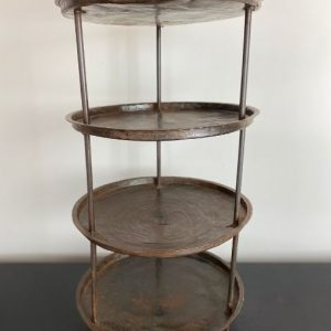 vintage four tier stand